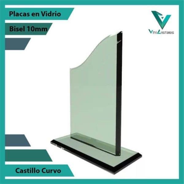 Placas en Vidrio personalizadas con grabado laser