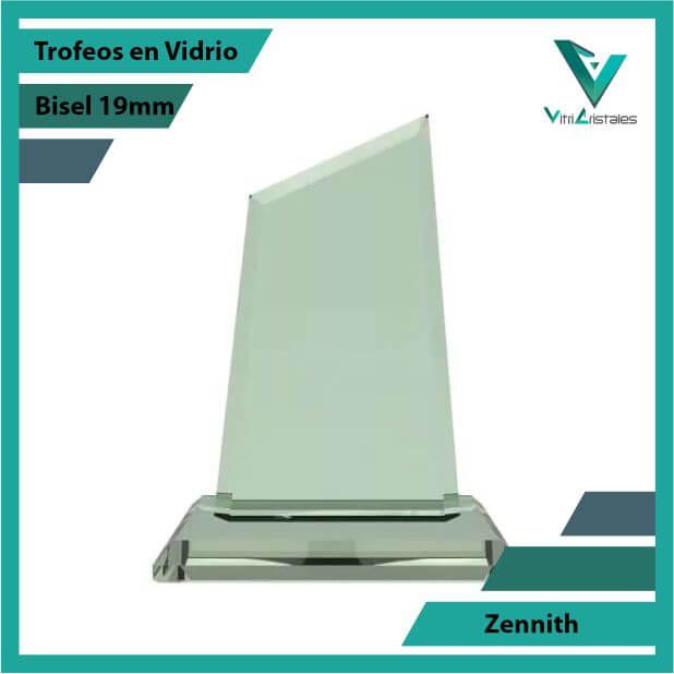 Trofeos en Vidrio Zennith grabado en laser