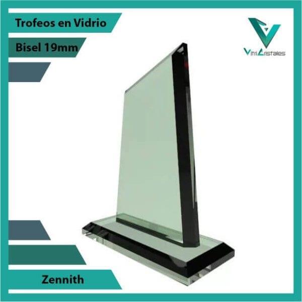 Trofeos en Vidrio Zennith personalizados