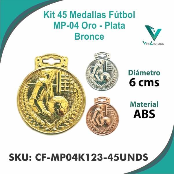 Medallas Futbol CF-MP04K123-45UNDS