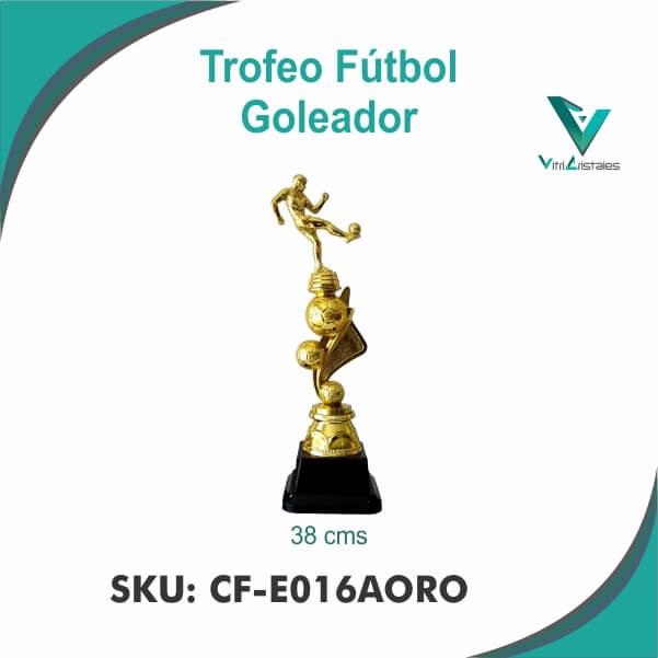 TROFEO GOLEADOR ORO CF-E016AORO