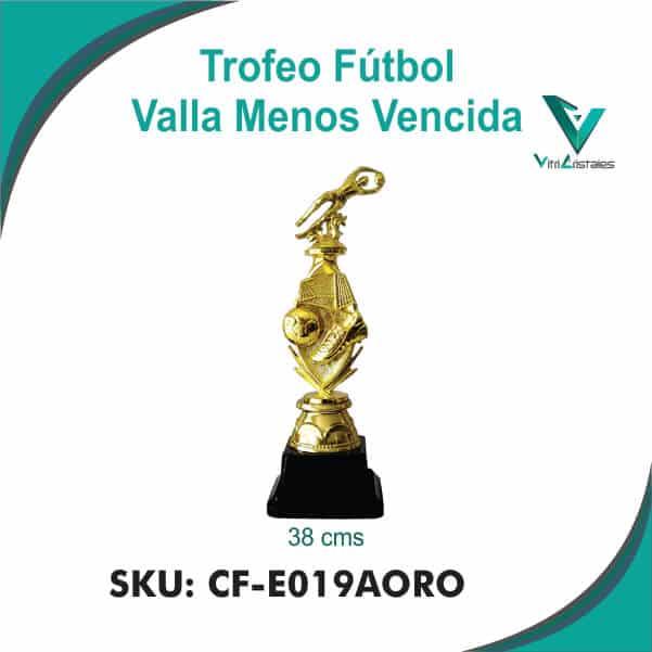 TROFEO VALLA MENOS VENCIDA CF-E019AORO