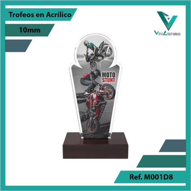 Trofeos en Acrilico Ref 001 F STUNT
