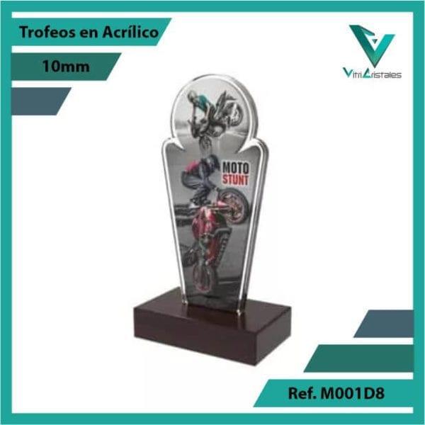 Trofeos en Acrilico Ref 001 L STUNT