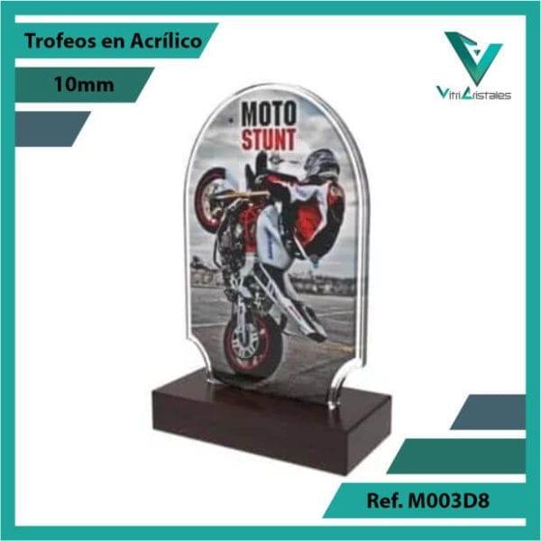 Trofeos en Acrilico Ref 003 L STUNT
