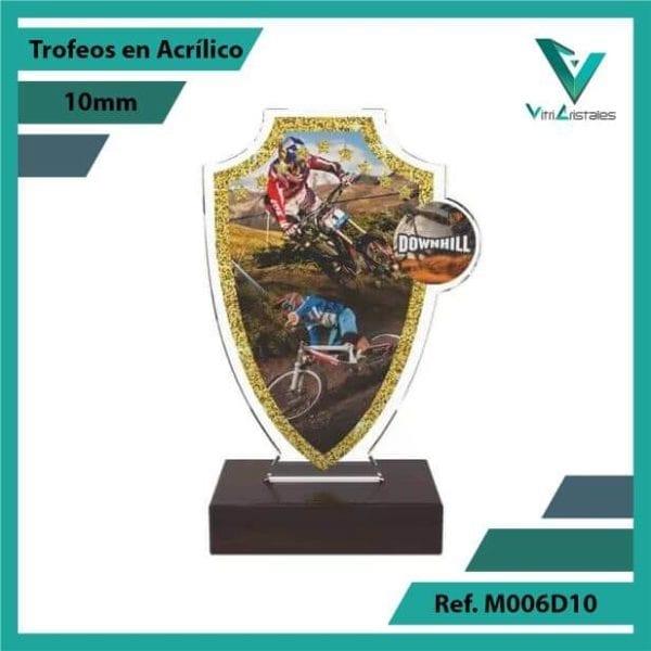 Trofeos en Acrilico Ref 006 F DOWNHILL