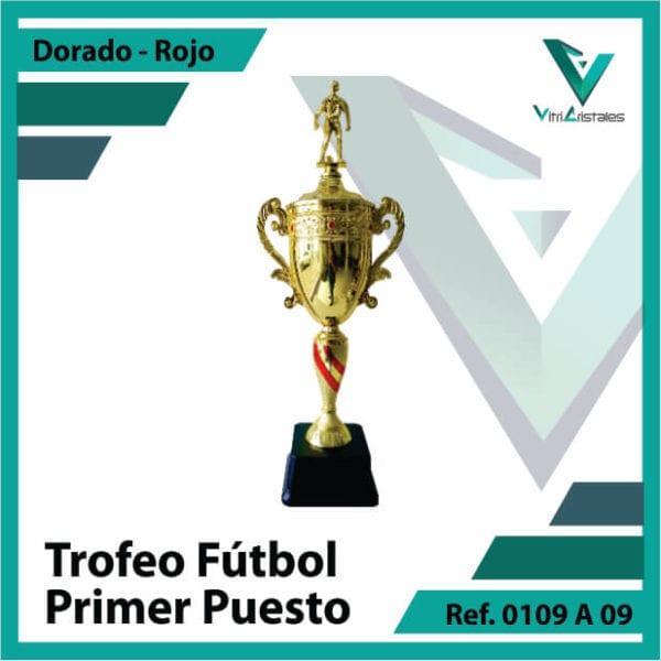 Trofeos deportivos de futbol campeon Ref.0109A171ORR para entrega en Cali