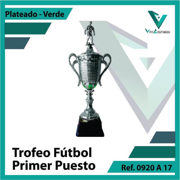 Trofeos deportivos de futbol campeon Ref.0920A171PLV para entrega en Medellin