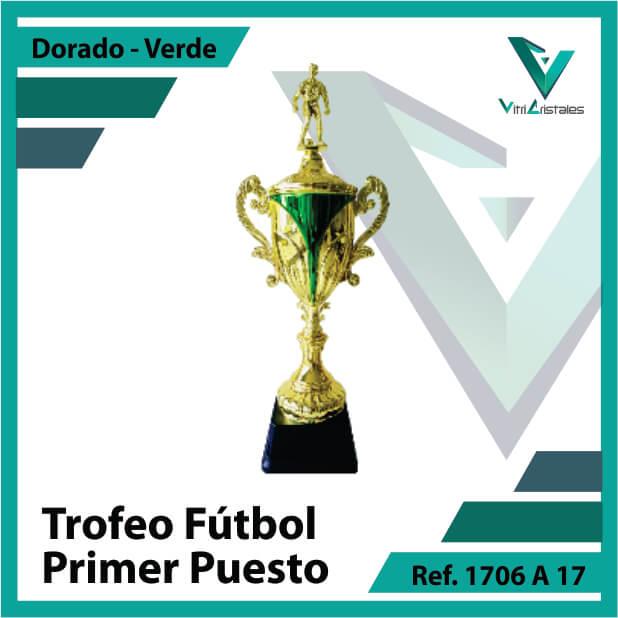 Trofeos deportivos de futbol campeon Ref.1706A171ORV para entrega en Cali