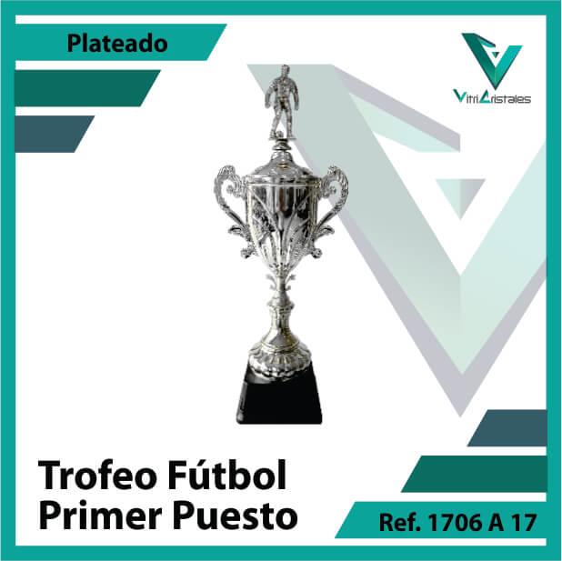 Trofeos deportivos de futbol campeon Ref.1706A171PLA para entrega en Cali