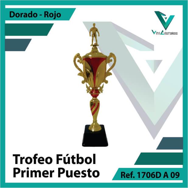 Trofeos deportivos de futbol campeon Ref.1706DA091ORR para entrega en Cali