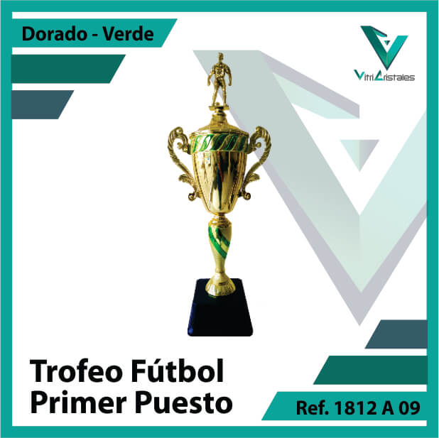 Trofeos de futbol campeon Ref.1812A091ORV para entrega en Bogotá, Medellin, Cali o para envio a todo el pais