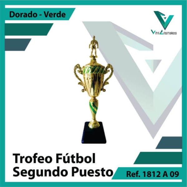 Trofeos de futbol subcampeon Ref.1812A092ORV para entrega en Bogotá, Medellin, Cali o para envio a todo el pais