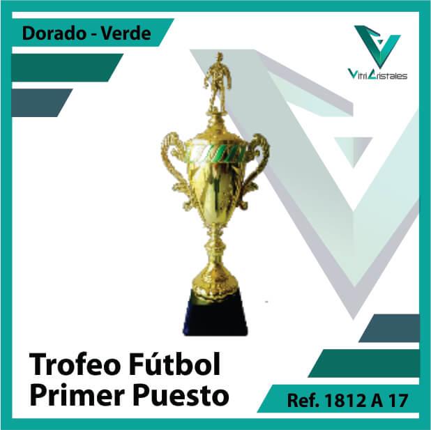 Trofeos deportivos de futbol campeon Ref.1812A171ORV para entrega en Bogota