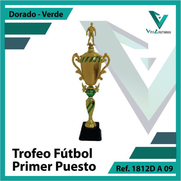 Trofeos de futbol campeon Ref.1812DA091ORV para entrega en Bogotá, Medellin, Cali o para envio a todo el pais