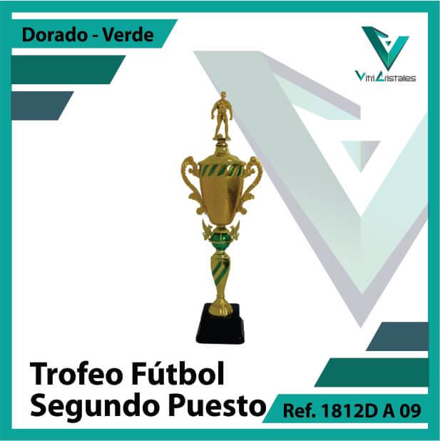 Trofeos de futbol subcampeon Ref.1812DA092ORV para entrega en Bogotá, Medellin, Cali o para envio a todo el pais