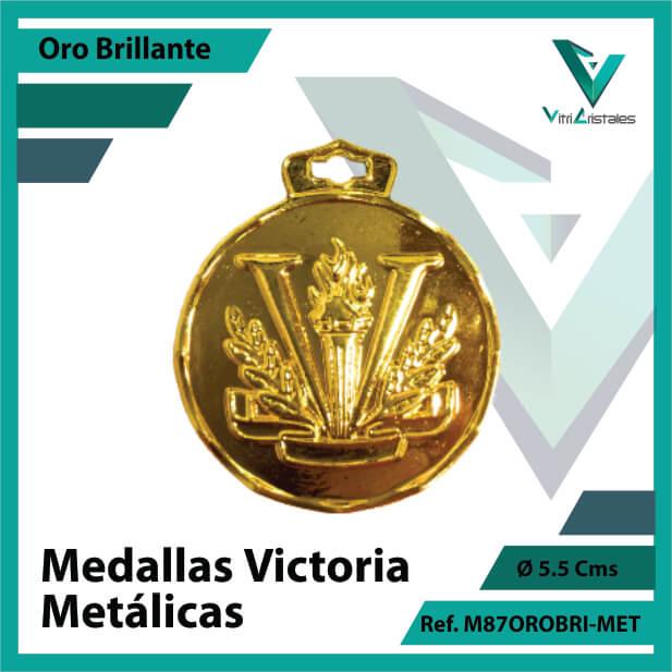 medallas en oro victoria metalicas ref m87orobri-met