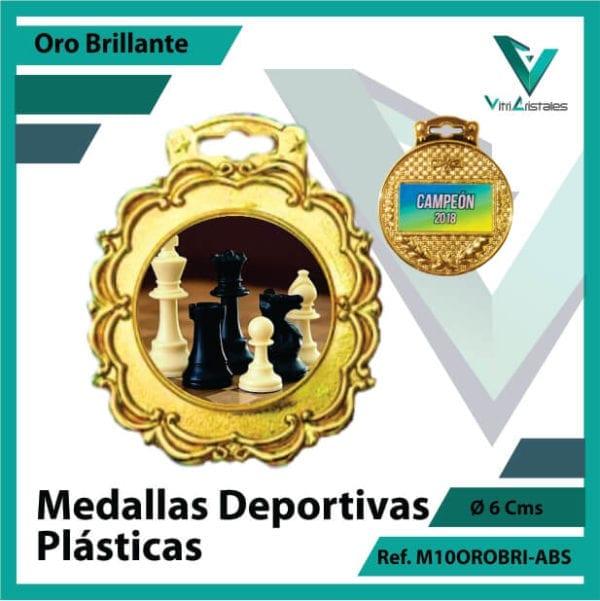 medallas para niños deportivas plasticas oro brillante ref m10orobri-abs