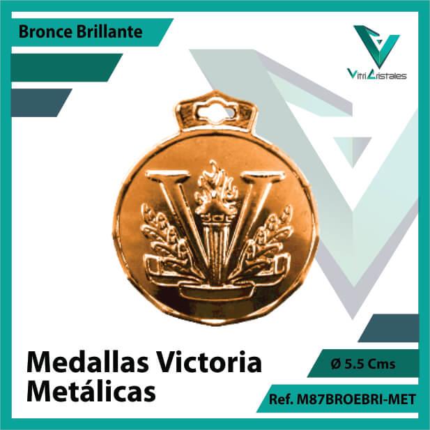 medallas victoria en bronce metalicas ref m87brobri-met